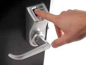 Installation serrure biometrique